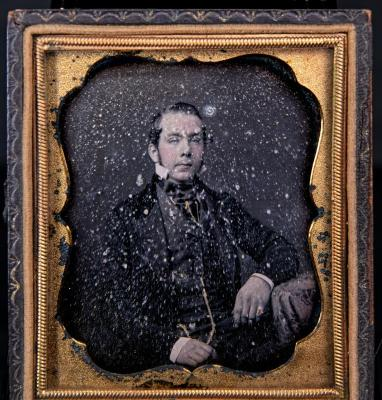 DAGUERREOTYPE of unknown man