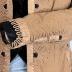 Coat -brown w/ black silk lining