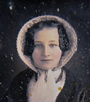 DAGUERREOTYPE of Mrs. Mary Scranton Brown Hale