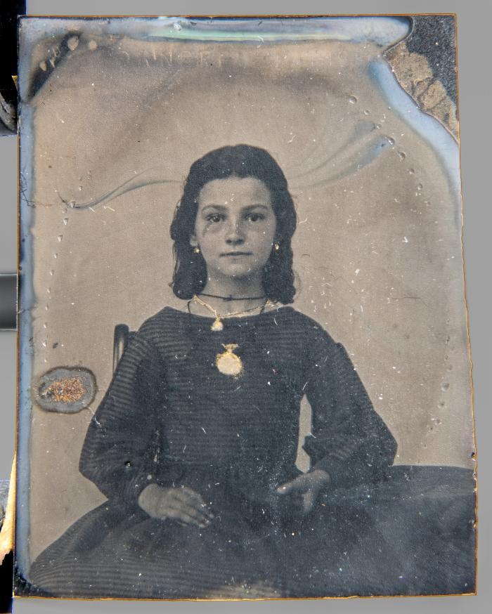 Tintype of Mrs. Benjamin Ellery Hale