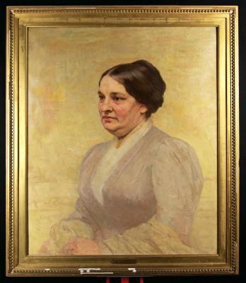 Portrait of Mrs. Emily Fowler Clark Bushnell