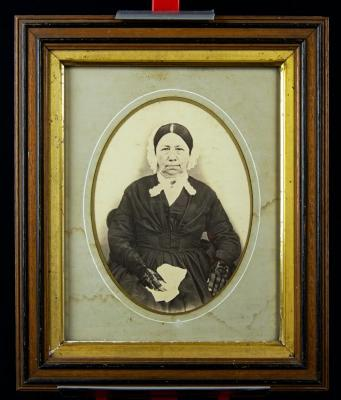 Photo - framed portrait of Elizabeth Northrop Scranton