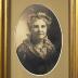 PHOTOGRAPH frame & oval of Elizabeth Todd Nash