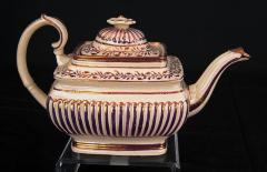 Teapot & Lid, rectangular