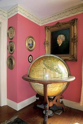Globe in Standing Frame