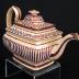 Teapot & Lid, rectangular