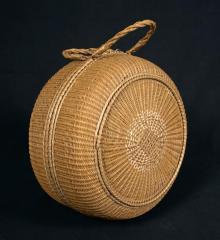 Wicker Lady's Bonnet Basket