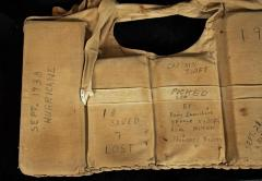 Life Jacket from '38 hurricane rescue