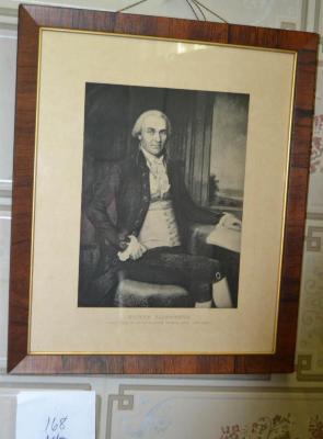 Oliver Ellsworth Lithograph