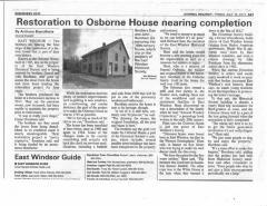 Osborne House Restoration