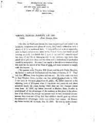 "Biographical Memoranda  respecting ""All who ever were members of the Class of 1832 in Yale College memoranda. Brown Samuel Robbins, A.B. 1832.  *1880 from Monson, Mass."