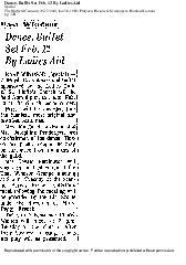 Ladies Aid Society 1918-1966  Various Newspaper articles