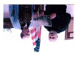 Photograph of Warren Wenz and George Butenkoff