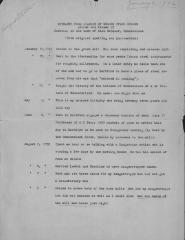 Extracts from Diaries of Nelson Starr Osborn