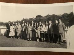 Photo of The John Fitts family plus others