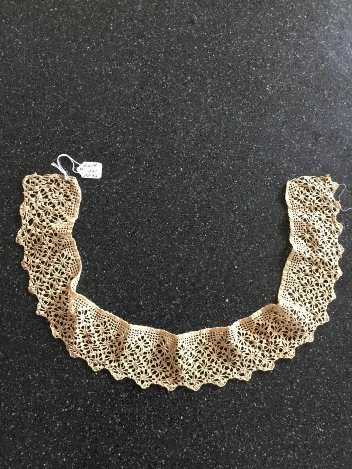 Crocheted ladies lace collar