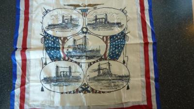 Pillow Cover - US Naval Ships Commerative