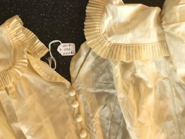 Wedding Dress peau de soir