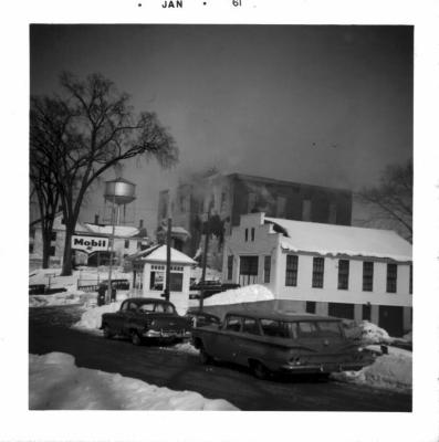 Sweeney's Garage and Town Hall Fire