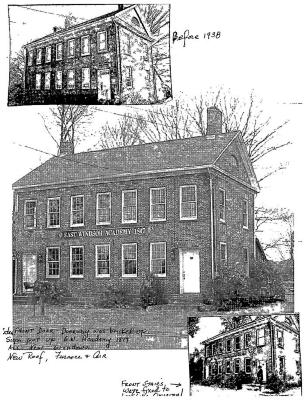 East Windsor Academy Before and After - Photo collage