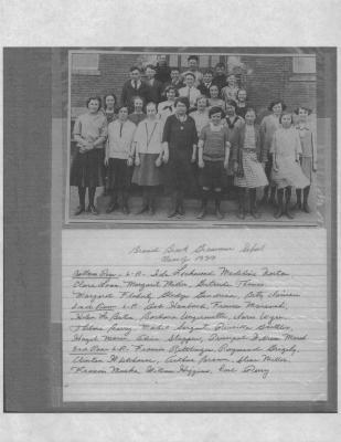 "Broad Brook Grammar School Class of 1939. Photo ""Class of 1939"""