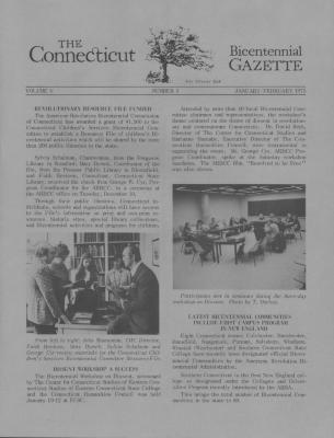 Connecticut Bicentennial Gazette, The