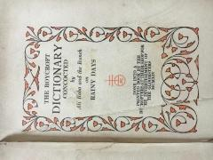 Roycroft Dictionary, The; by Ali Baba and The Bunch