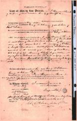 Benjamin Pierce Quit Claim Deed to George W. Johnson