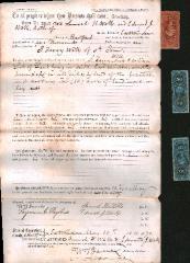 Warrantee deed,  Recorded 17 December 1870. Vol. 33,  Page 637.