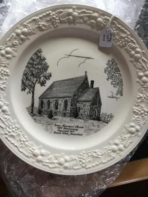 Commerative Plate, 110th Anniversary of Grace Episcopal Church
