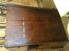Cutting board and ruler from Finishing Room at the Broad Brook Mill .