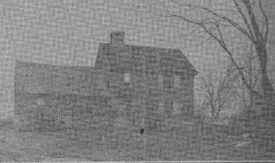 John Dougherty Place was Village Blacksmith's Home