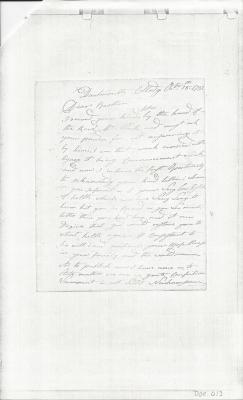 Photocopy of Eben Brewster Letter - Dartmouth