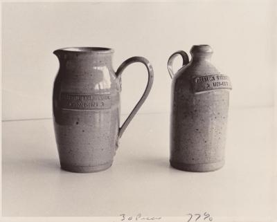 Preston Bicentennial commemorative pottery