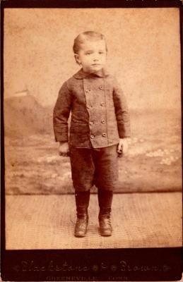 George Benjamin (as a young boy)