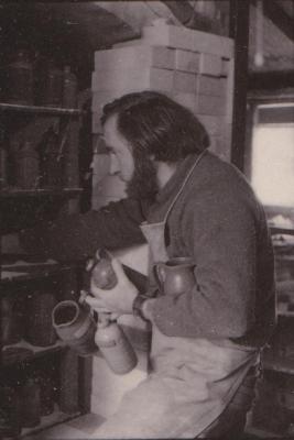 making Preston Bicentennial pottery -- frame 6