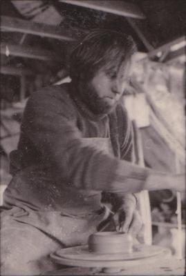 making Preston Bicentennial pottery -- frame 11