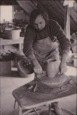 making Preston Bicentennial pottery -- frame 18