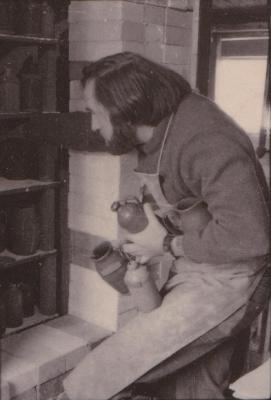 making Preston Bicentennial pottery -- frame 9
