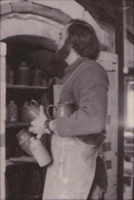 making Preston Bicentennial pottery -- frame 8