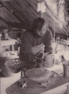 making Preston Bicentennial pottery -- frame 20