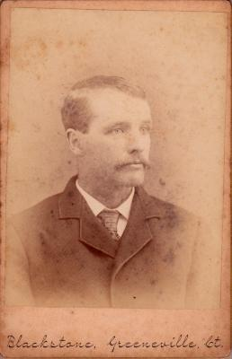 George Benjamin (as a young adult)