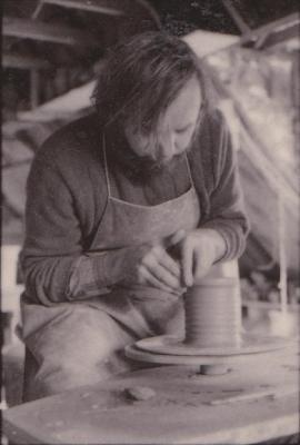 making Preston Bicentennial pottery -- frame 12