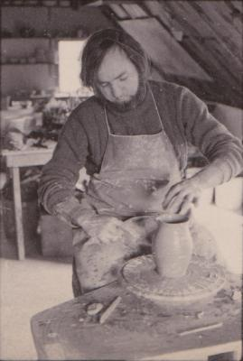 making Preston Bicentennial pottery -- frame 16