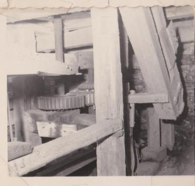 interior view, Lewis Mill