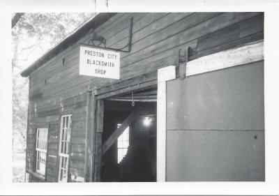 Preston City Blacksmith Shop - 1967