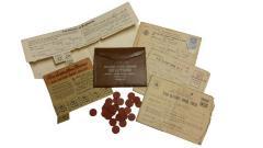 World War II Ration Vouchers