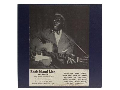 """Rock Island Line"" Album and Cover"