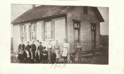 Photograph: Nod Hill School Students