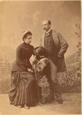 Helen and William Glover portrait